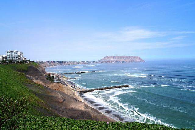 Miraflores forma parte de la llamada Costa Verde