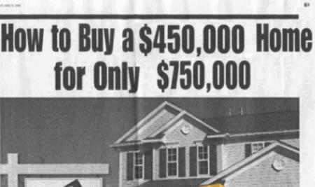 Anuncio inmobiliario con un error garrafal