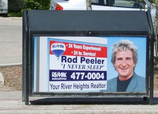 Un agente inmobiliaria que dice que nunca duerme