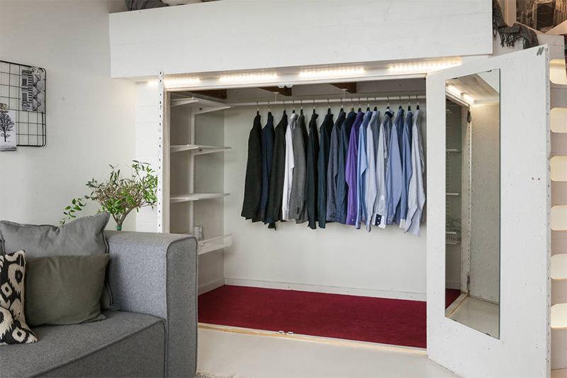 5 ideas originales de armarios para espacios reducidos - Armarios espacios pequenos ...