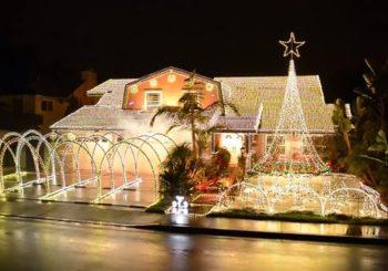 Las casas mejores iluminadas por Navidad del mundo