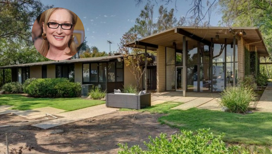 La casa de la nominada al Oscar Meryl Streep