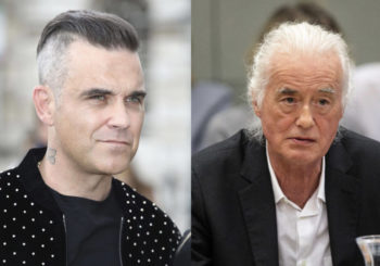La guerra vecinal entre Jimmy Page y Robbie Williams