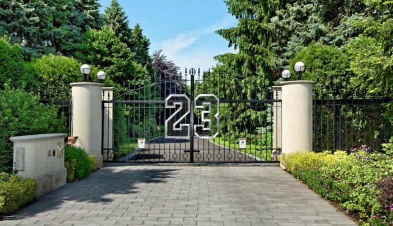 Así es la mansión de Michael Jordan en Chicago