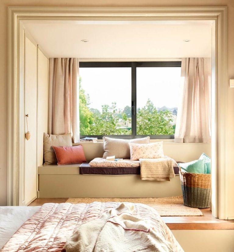 Cómo puedes montar tu propio rincón de lectura bajo la ventana