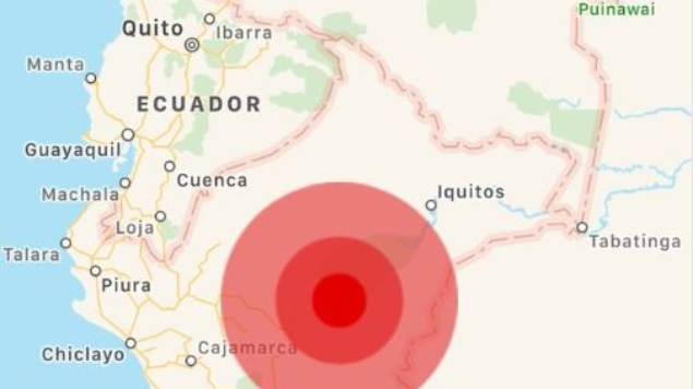 Sismo en Perú