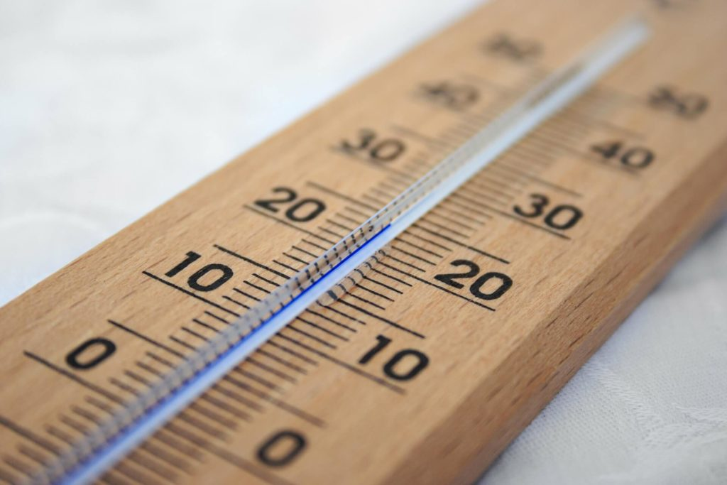 Mantén una temperatura agradable