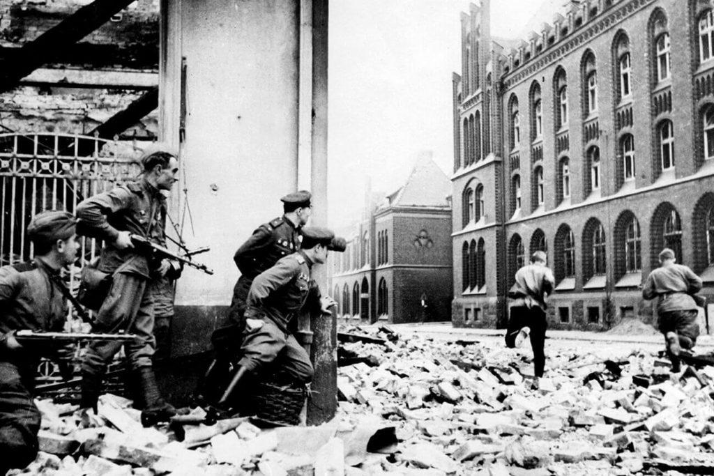 Los efectos de la segunda guerra mundial en Alemania