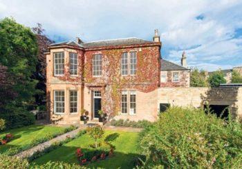 La mansión en la que J.K. Rowling escribió cuatro novelas