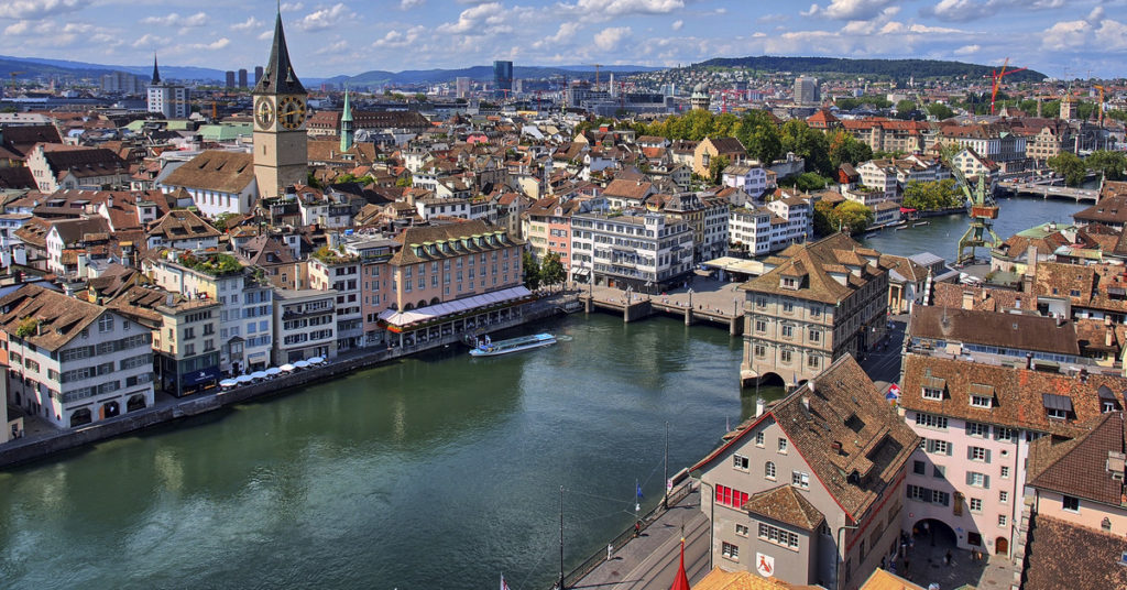 Zurich es la ciudad con mayor esperanza de vida