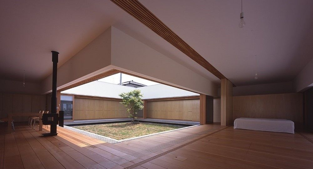 Arquitectura japonesa que no creen en los muros