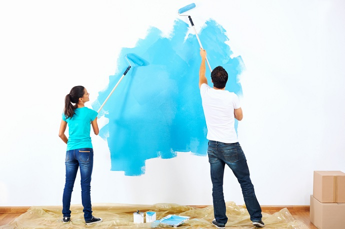 Pinta las paredes de un color inesperado