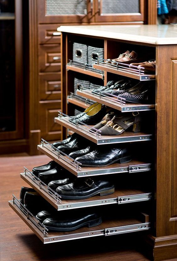 Cómo organizar bien tus zapatos