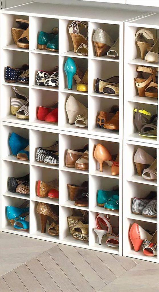 Cómo organizar tus zapatos