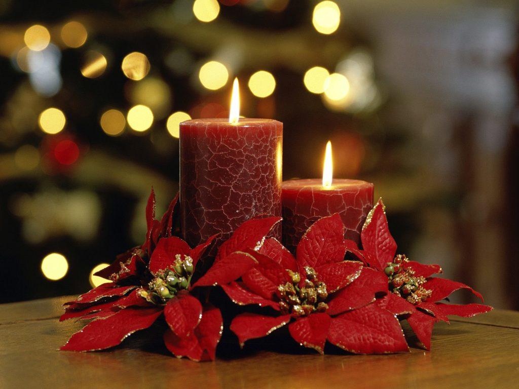 Cómo decorar con velas esta navidad